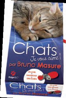 Livre chats je vous aime par Bruno Masure