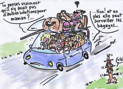 Préparer son véhicule avant un voyage ou les vacances