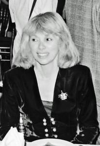 FESTIVAL DU CINEMA ROMANTIQUE . MIREILLE DARC . CABOURG . 1989 .