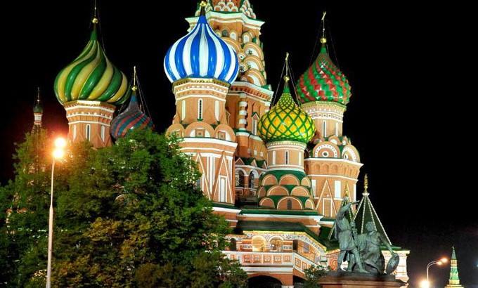 Moscou, nouvelle ville-lumière