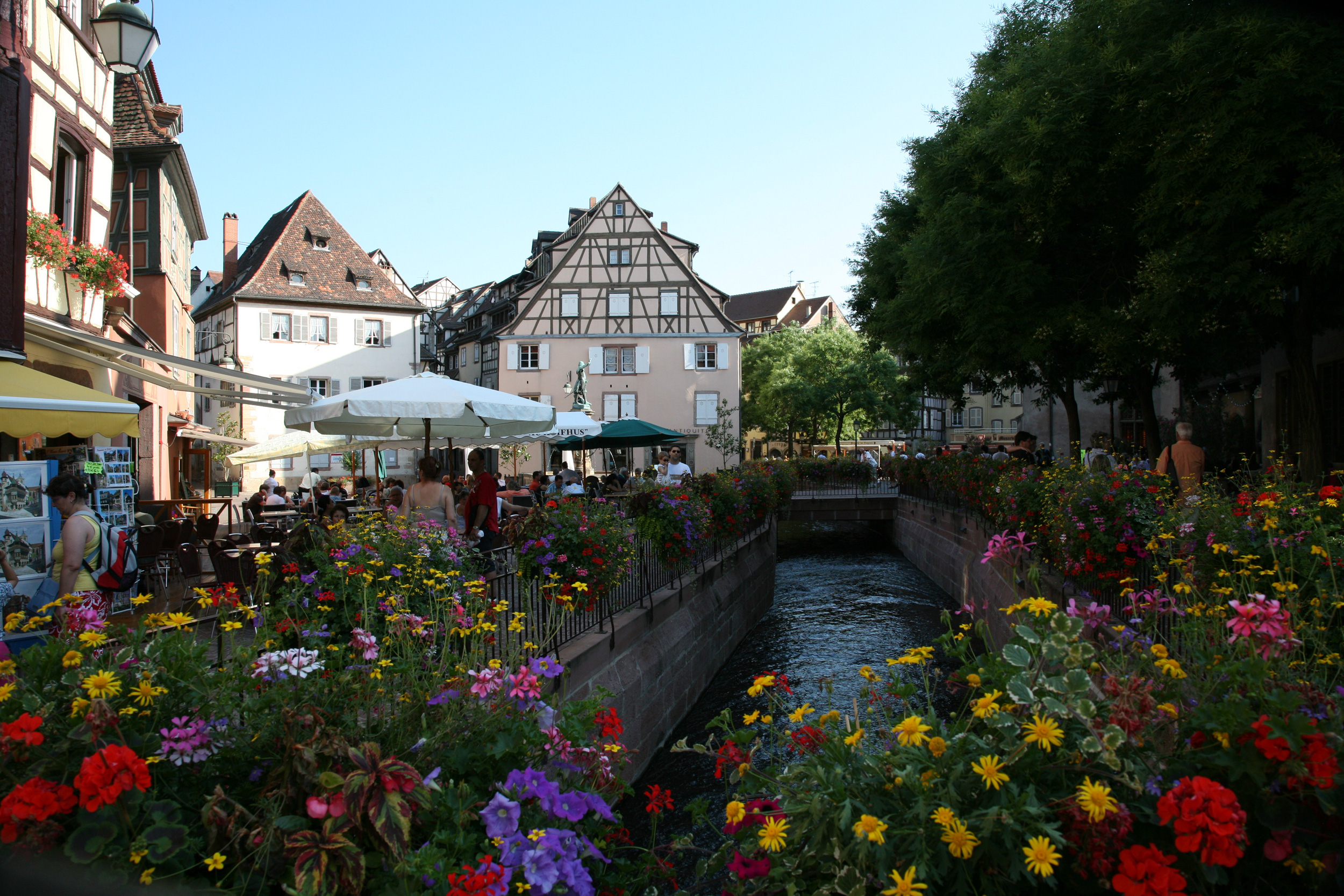 Place de l'Ancienne Douane à Colmar - © Estelle Tschan