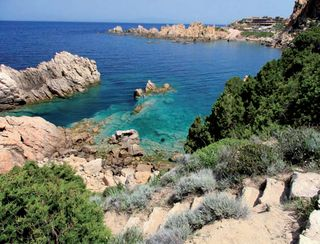 côte sur la Mer Méditerranée