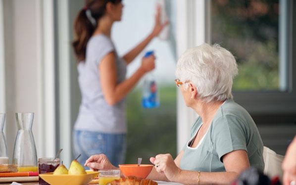 Comment obtenir une aide ménagère
