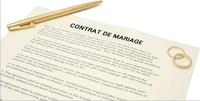 Changer de régime matrimonial
