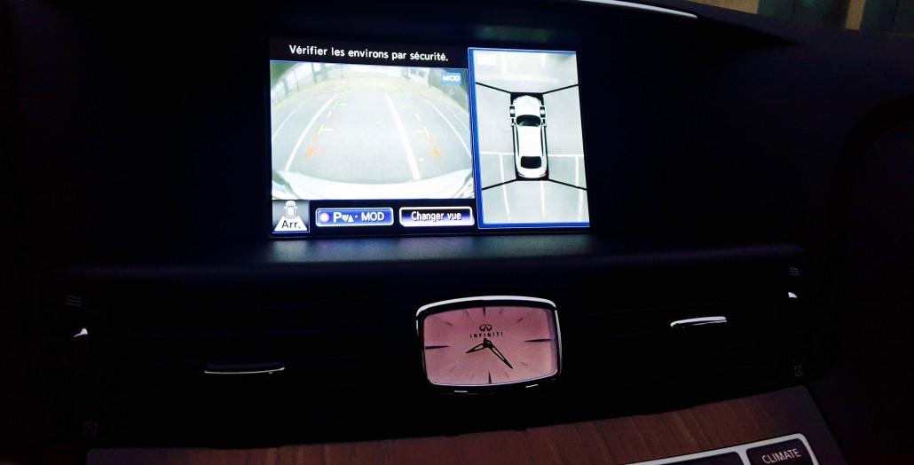 Nissan Q70 hybrid Diamant : ordinateur de bord