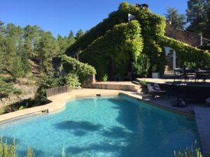 Un plongeon dans la piscine après le yoga