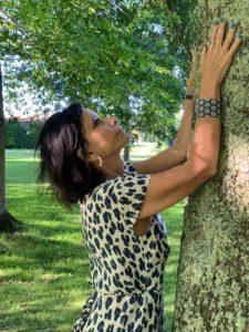 Corine Moriou sylvothérapeute et professeur de yoga