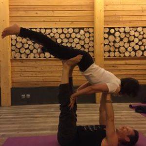 Acro Yoga Julien Levy